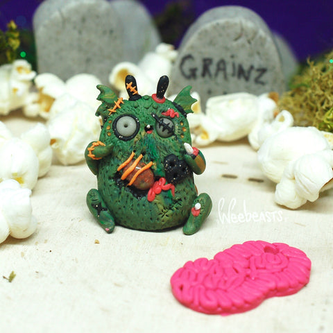 'Fee' #16  Limited Edition Zombie BB Variant ✦ unakite life source