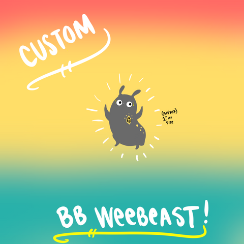 Custom BB weebeast ✦ made to order - Drawing #01