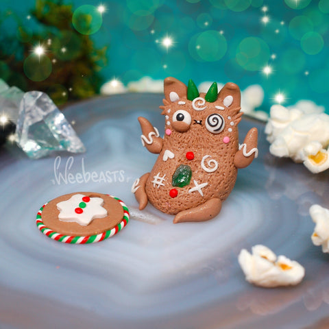 Urp #20 Limited Edition Gingerbread BB Variant ✦ green apatite life source