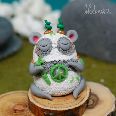 Peaceful Panda weebeast ✦ labradorite life source
