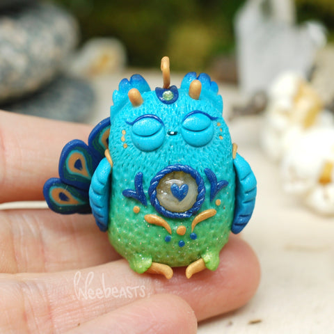Bb peacock weebeast ✦ citrine life source