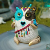 Loyola  ✦ Animal Spirit Weebeast #275 ✦ with owl guardian amethyst & quartz life source
