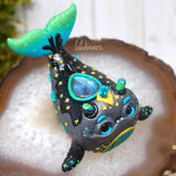 Cetus Constellation Weebeast #208 ✦ labradorite  life source