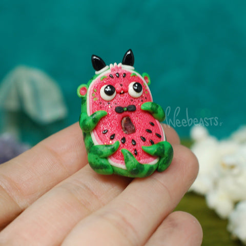 BB Ottermelon weebeast ✦ Raw Tourmaline life source