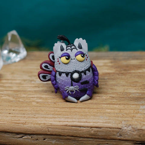 Gothic Peacock BB weebeast ✦ howlite life source