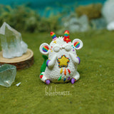 Green tail- Rainbow Rat BB Weebeast ✦ w/ citrine life source