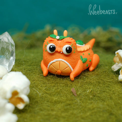 BB Sweet orange gator weebeast ✦ moonstone life source