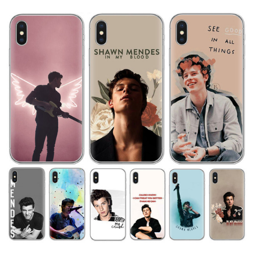 Shawn Mendes iPhone Hoesje