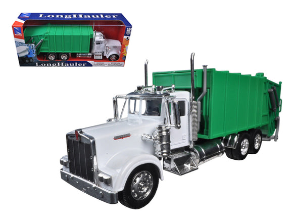 Kenworth W900 Garbage Truck 1/32 Diecast Model by New Ray