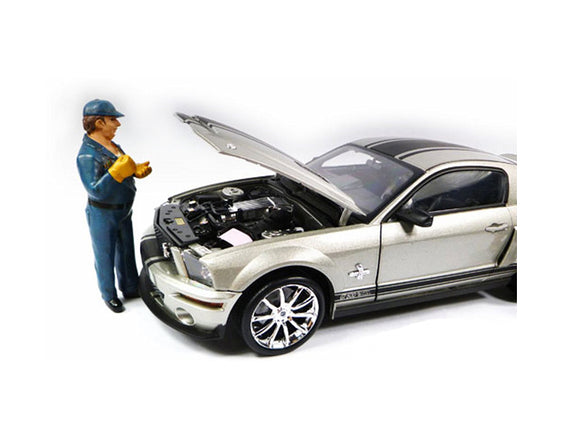 Tow Truck Driver/Operator Bill Figure For 1:18 Scale Diecast Car Models by American Diorama