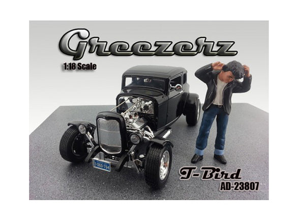 Greezerz T-Bird Figure For 1:18 Diecast Model Cars by American Diorama