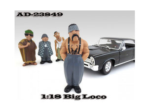 "Big Loco \Homies"" Figure For 1:18 Diecast Model Cars by American Diorama"""