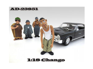 "Chango \Homies"" Figurine For 1:18 Scale Diecast Model Cars by American Diorama"""