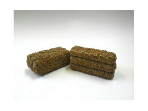 Hay Bale Accessory 2 Pieces Set for 1:18 Scale Models by American Diorama