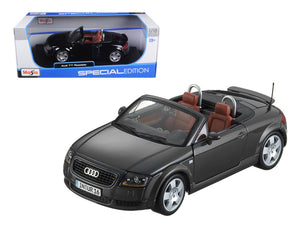 Audi TT Roadster Black 1/18 Diecast Model Car by Maisto