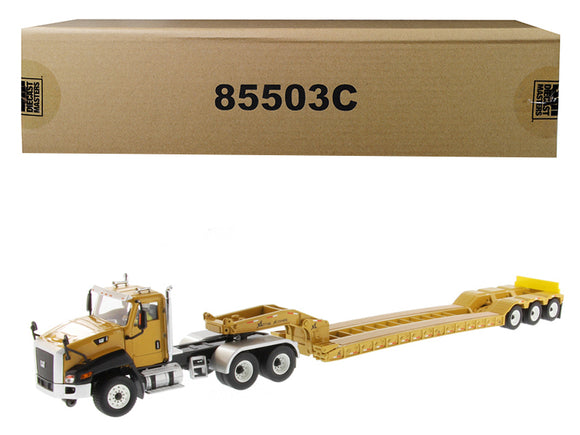 Cat Caterpillar CT660 Day Cab with XL 120 Low-Profile HDG Lowboy Trailer and Operator \Core Classics\