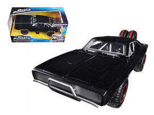 "Dom\'s 1970 Dodge Charger R/T Off Road Version \Fast & Furious 7"" Movie 1/24 Diecast Model Car by Jada """