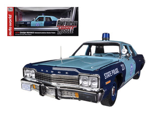 1974 Dodge Monaco Pursuit Massachusetts State Police 1/18 Limited to 2000pc by Autoworld