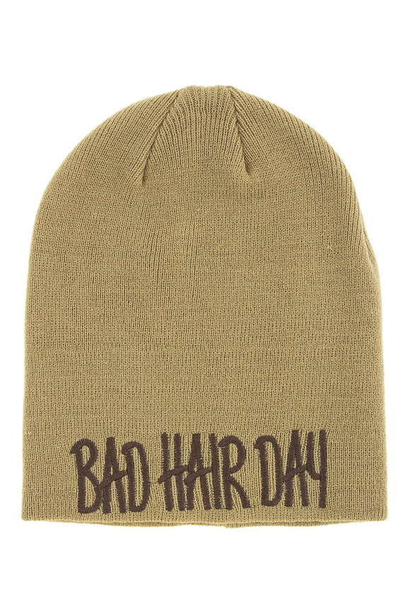 Bad hair day beanie - Style Forward