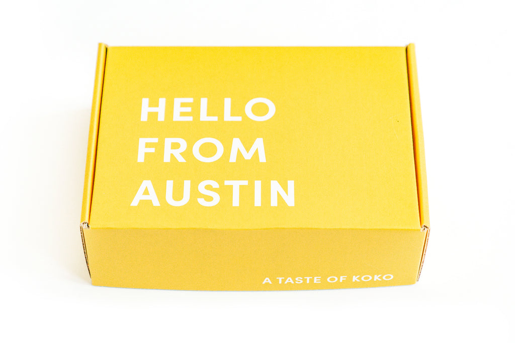 Hello From Austin - Koko Box