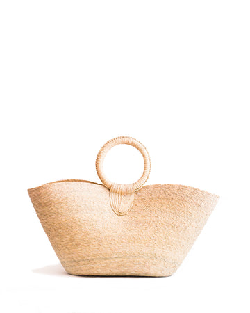 Wicker Tote - natural