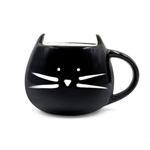 Novelty Cat Designed Ceramic Mug