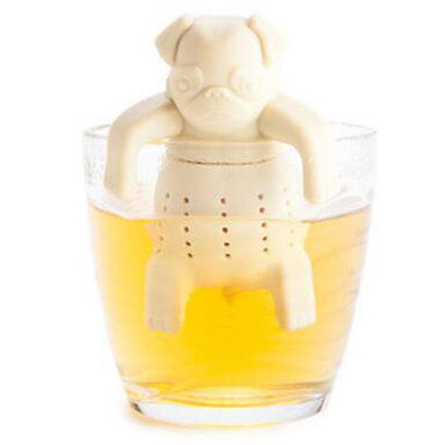 Eco-Friendly Silicone Pug Tea Infuser