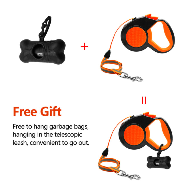 Automatic Extending & Retractable Dog Leash