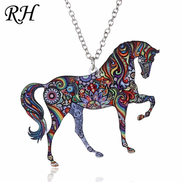 Acrylic Animal Pendant Necklace
