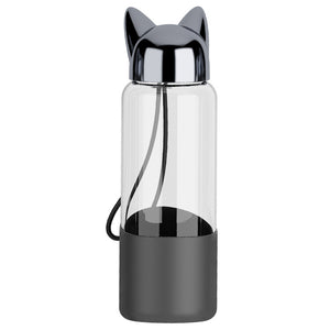 Cat Ear Portable Water Bottle