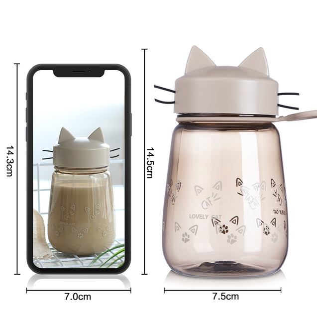 Portable Cat Designed Water Bottle