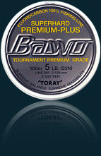 Bawo Super Hard Premium Plus 100% Fluorocarbon 109 yds