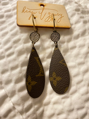 Kayla's Lv Earrings