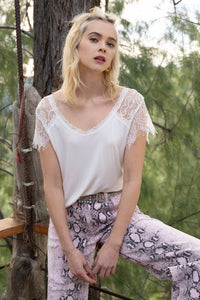 Dainty Lace Top