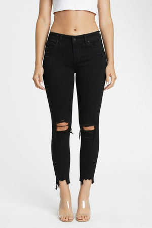 Josie's Black Distressed Jeans
