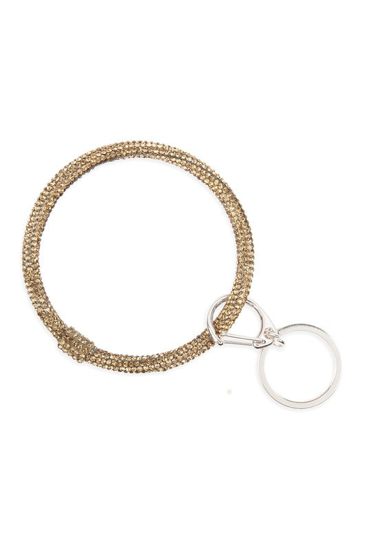 Rhinestone key ring