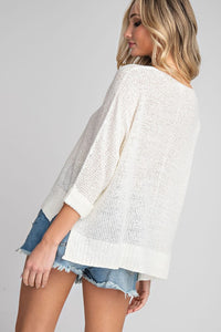 Crew Neck Knit Sweater