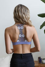 Load image into Gallery viewer, Floral Lattice Bralette