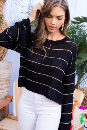 Georgia's Cropped Sweater