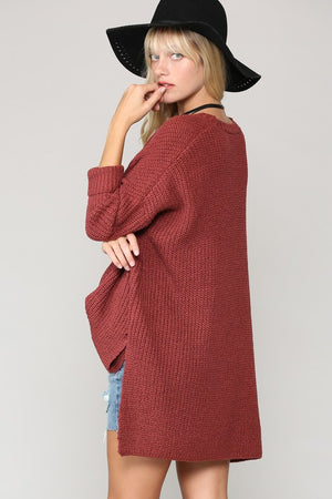 Chestnut Knit Sweater