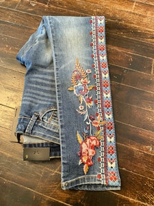 Shari's Embroidered Jeans