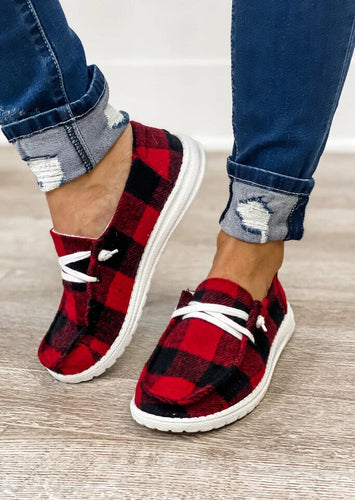Buffalo Plaid Canvas