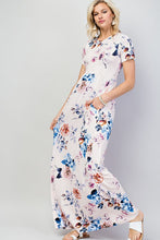 Load image into Gallery viewer, Blush floral maxi dress
