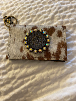 LV Keychain Credit Card Holder
