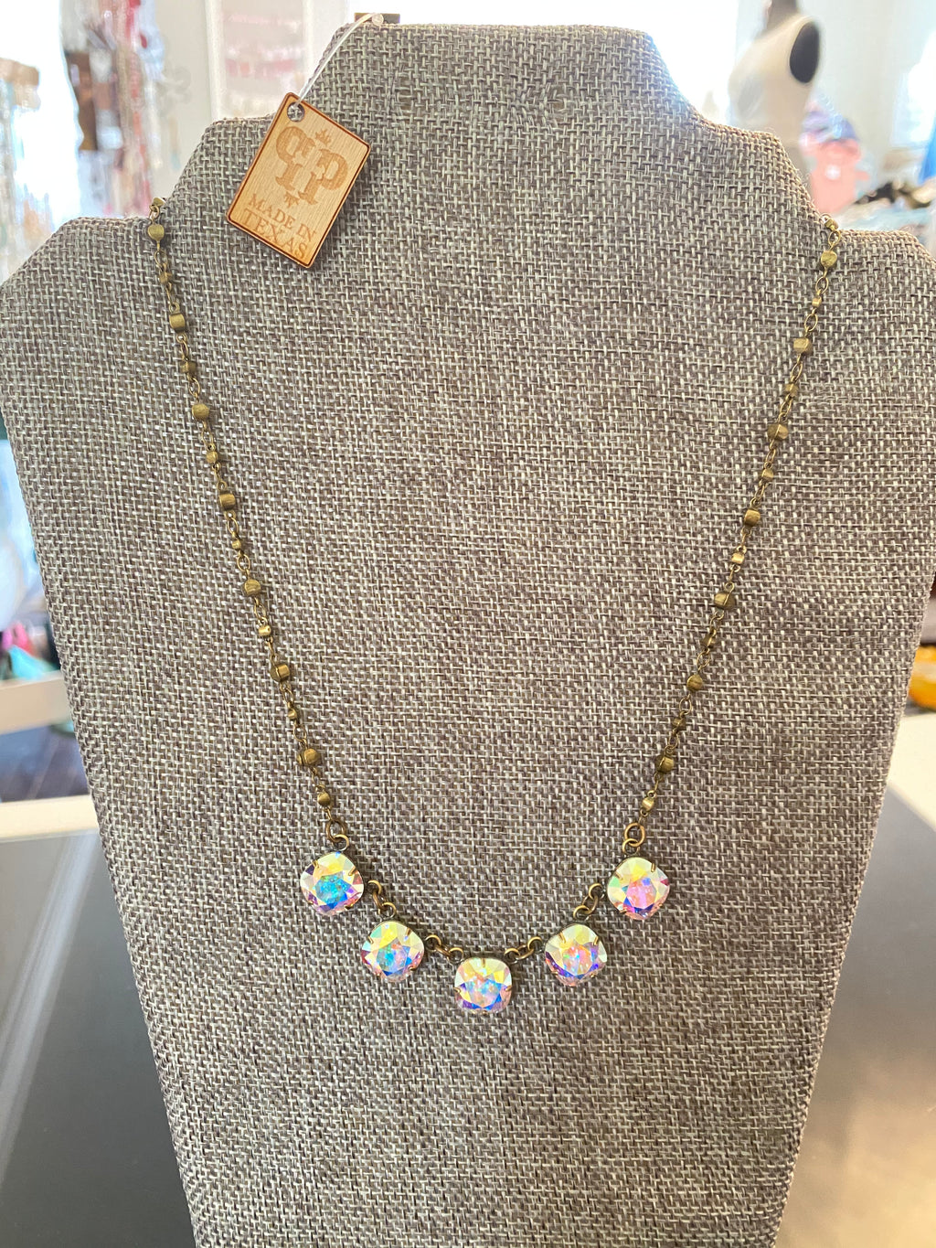 Add a little sparkle to your day Necklace