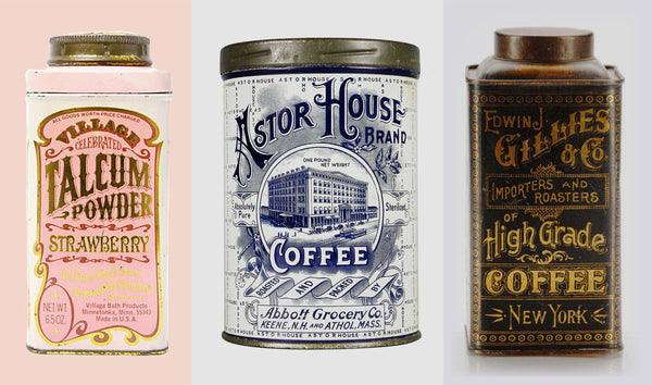 20 BEAUTIFUL VINTAGE TINS
