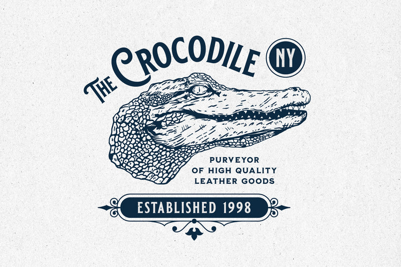 Crocodile Head – Logo Template