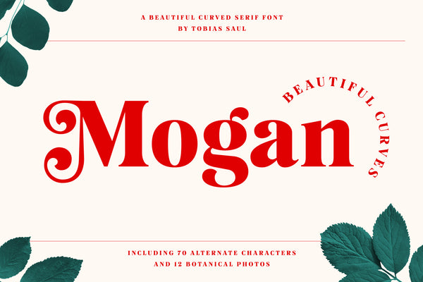 Mogan - elegant serif font by Heritage Type Co.