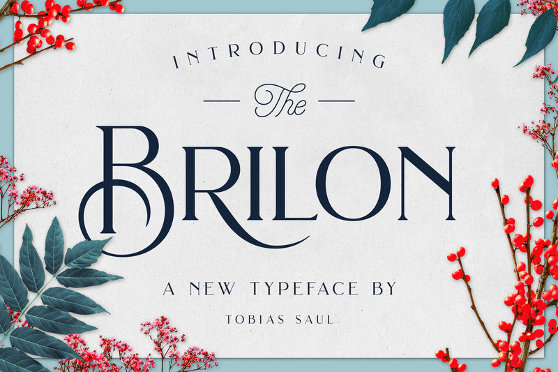 Brilon Font + Extras - Heritage Type Co.