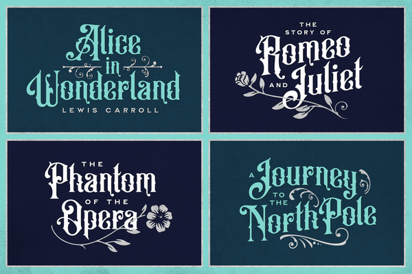 Old Alfie Font Duo - vintage font Heritage Type Co.